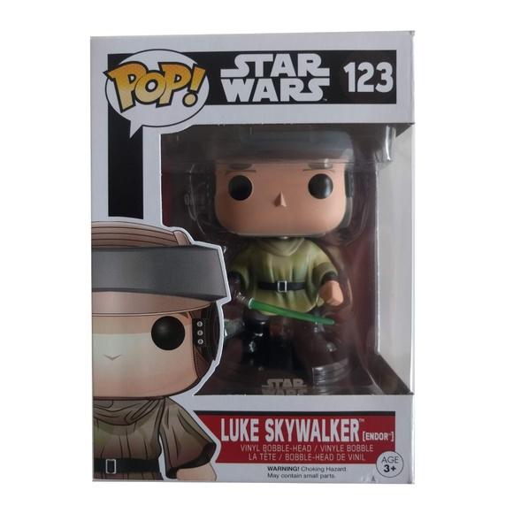 FUNKO POP! Luke Skywalker (Endor) Star Wars Bobble